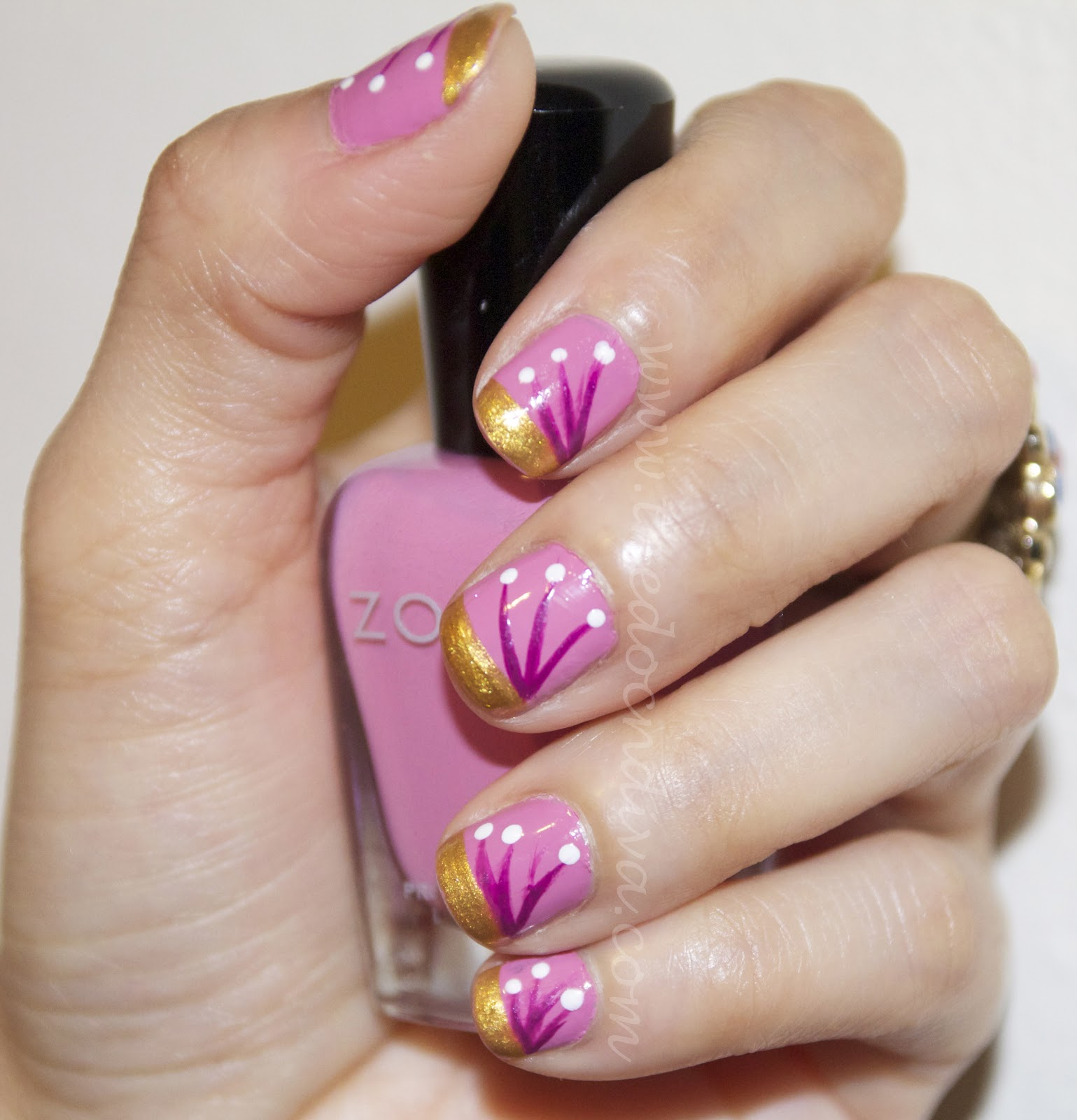 Spring inspired nail art step by step tutorial thedocndiva spring inspired nail art step by step tutorial prinsesfo Gallery