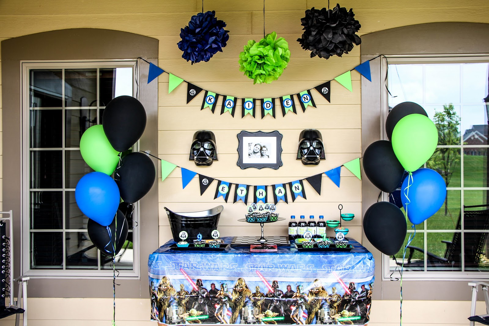 star wars birthday party - Star Wars Party Decorations