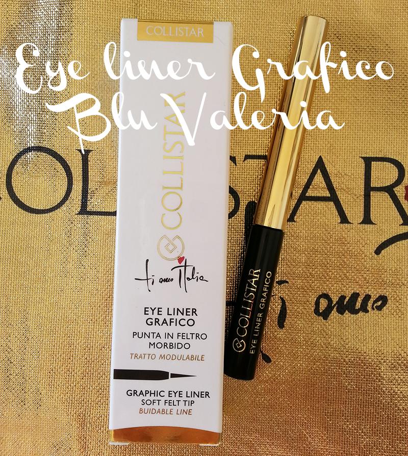 Collistar collezione bellezza italiana, eye liner grafico blu valeria
