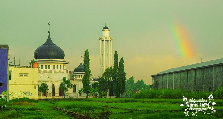 Replika masjid Aceh