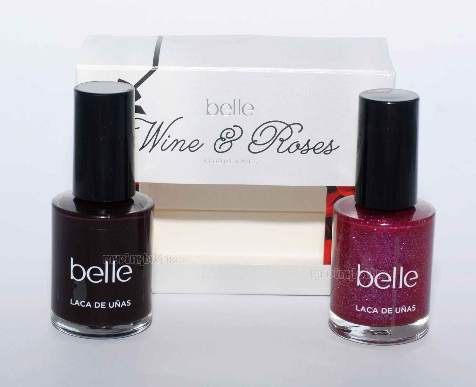 Belle Wine & roses esmaltes