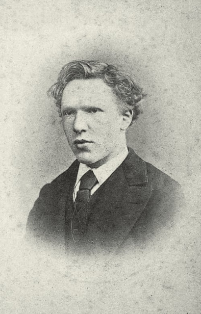 Vincent van Gogh at age 19 in 1873