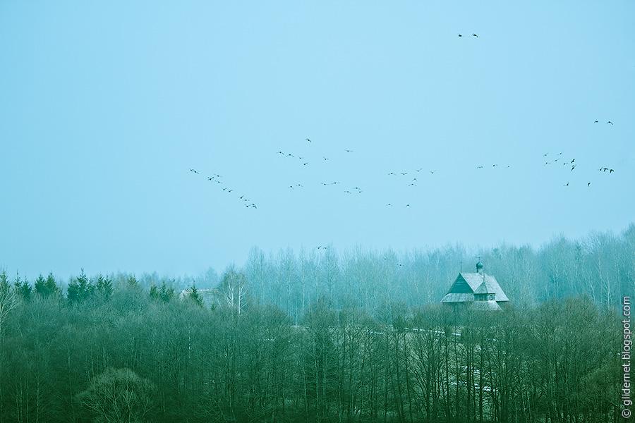 Озерцо/Строчица. Музей народной архитектуры и быта. Церковь