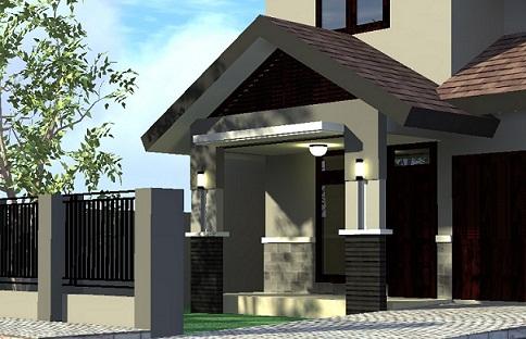 model│desain│gambar teras rumah minimalis | freewaremini
