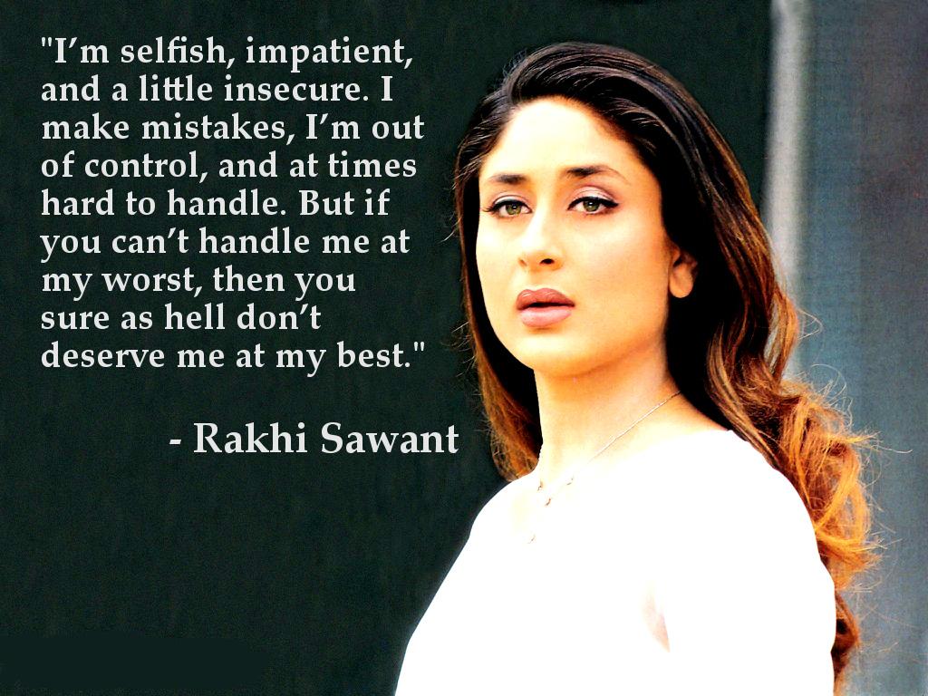 Kareena Kapoor, Marylin Monre, Rakhi Sawant