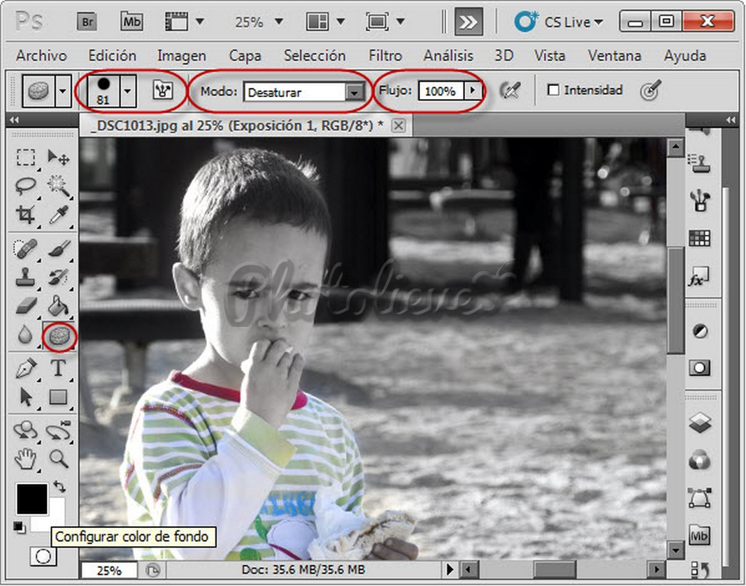 Fotografia lieve herramientas photoshop iv - Inmobiliaria serie 5 ...