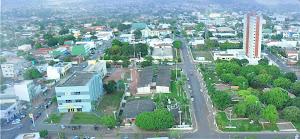 Cidade de Cacoal, município de Rondônia