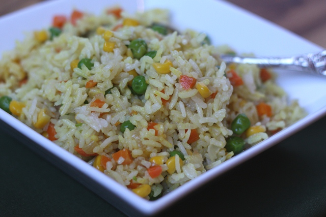 Vegetable Pulao recipe by Barefeet In The Kitchen