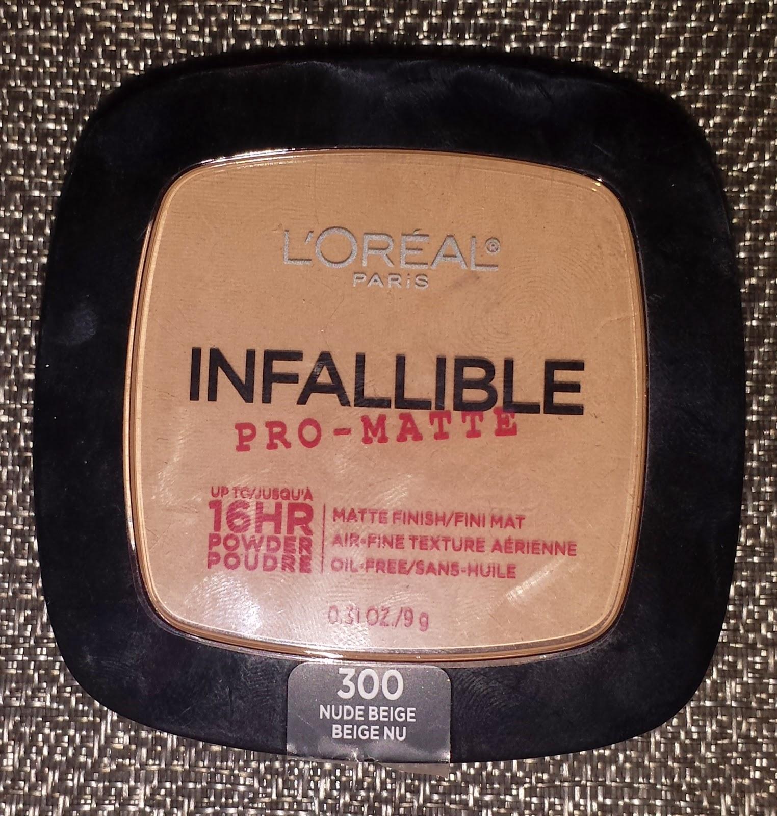 L'Oreal Infalliable Pro-Matte 16 Hr. Powder