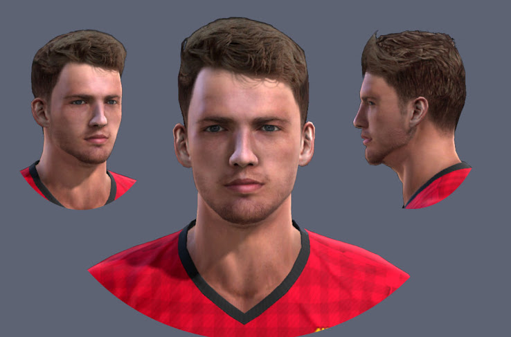 PES 2013 Nick Powell Face By KarkZ
