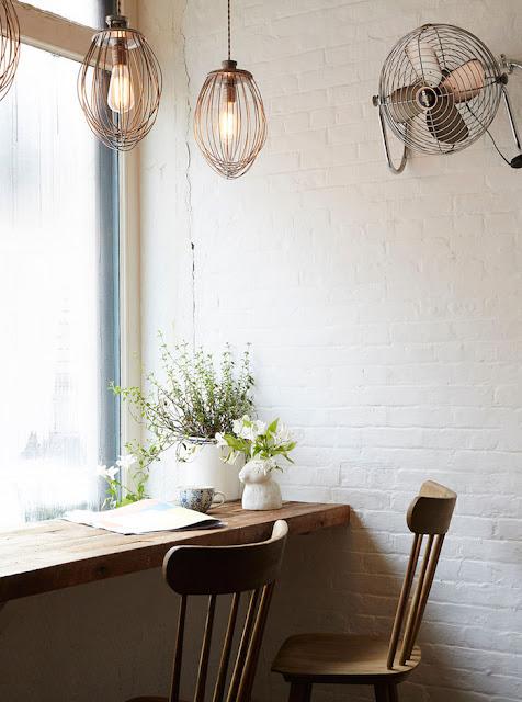 Cafetería Vintage Nueva York