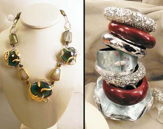 Jewery Designer, Alexis Bittar's limited edition pieces.