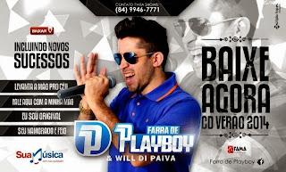 FARRA DE PLAYBOY CD PROMOCIONAL 2014