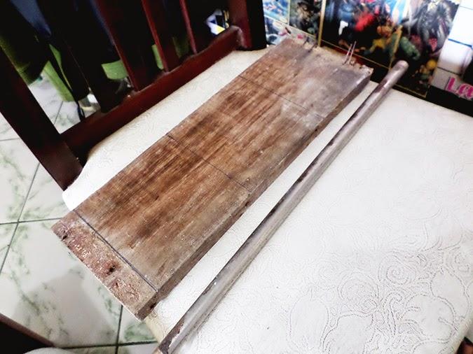 Como fazer abajur com cano e madeira