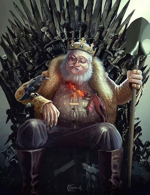 martin trono de hierro - Juego de Tronos en los siete reinos