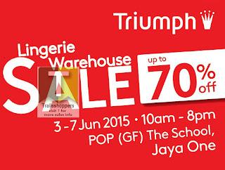 Triumph Malaysia Warehouse Sale 2015