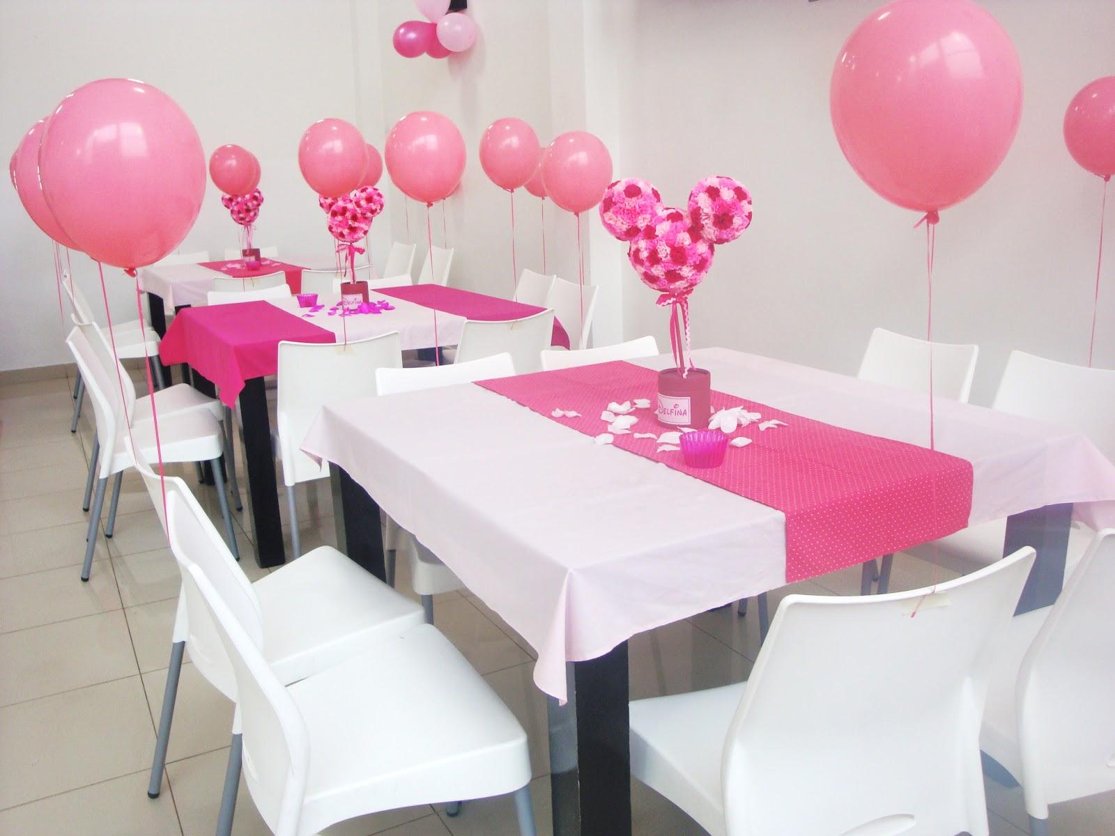ideas tematicas: Cumpleaños tematico. Una Minnie muy romántica ...