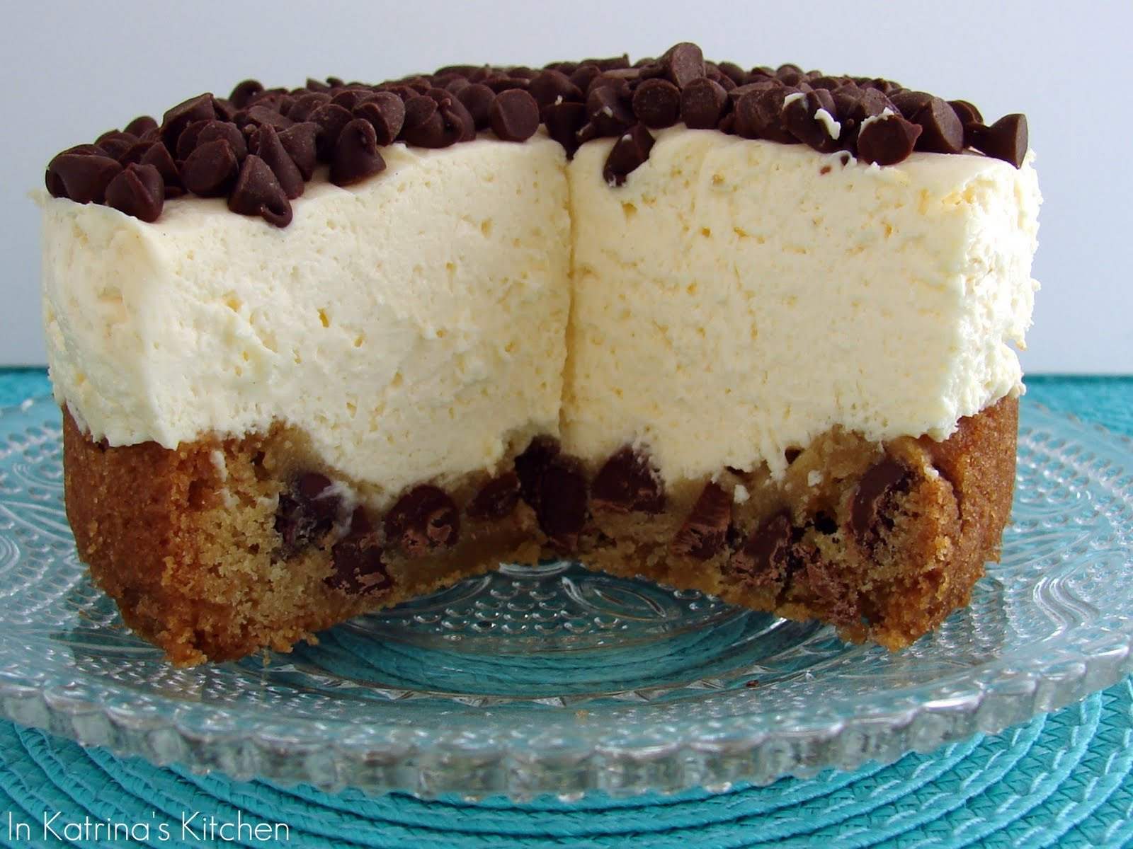 Chocolate Chip Cookie Cheesecake | Quick & Easy Recipes