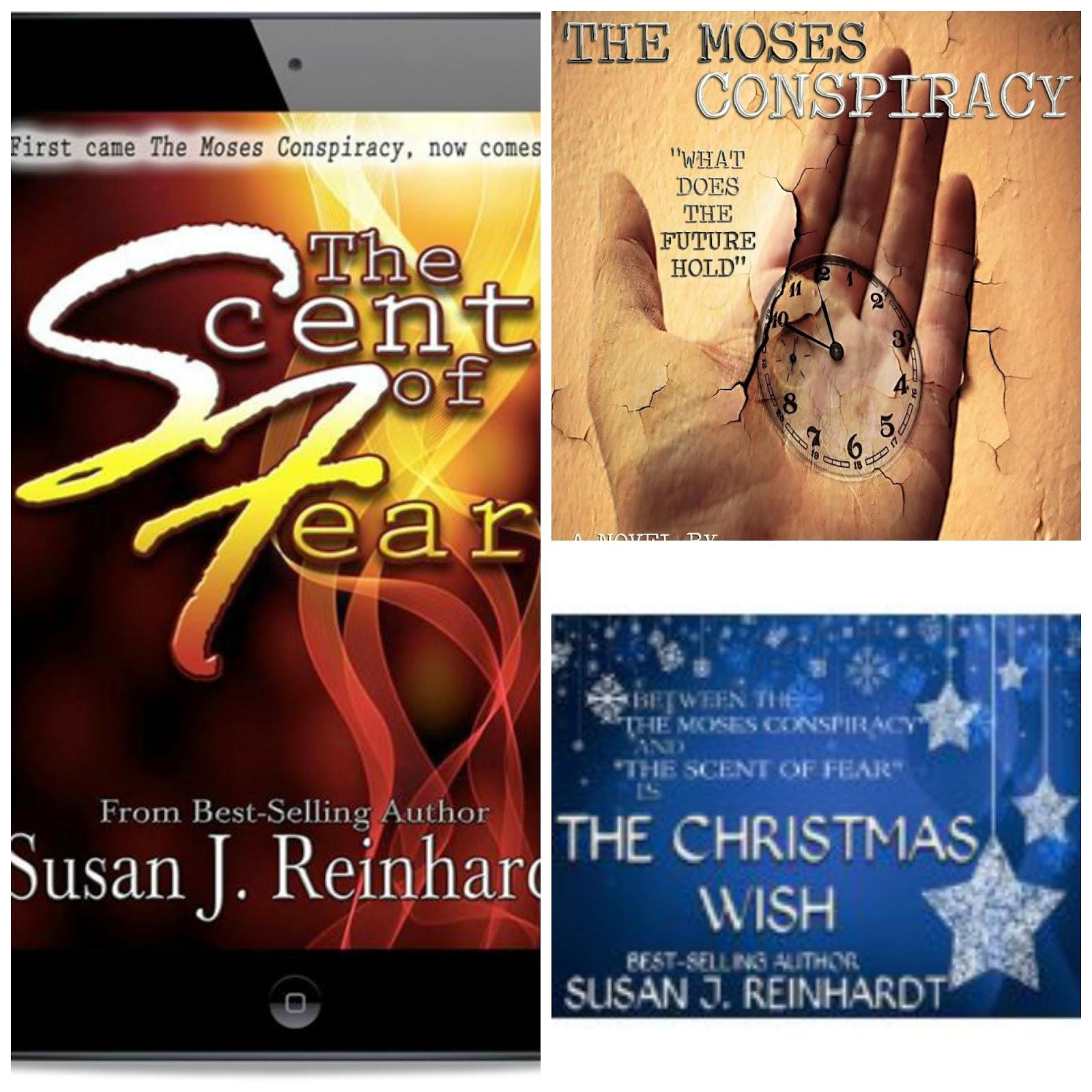 Enter to win 3 Susan j. Reinhardt E-books!