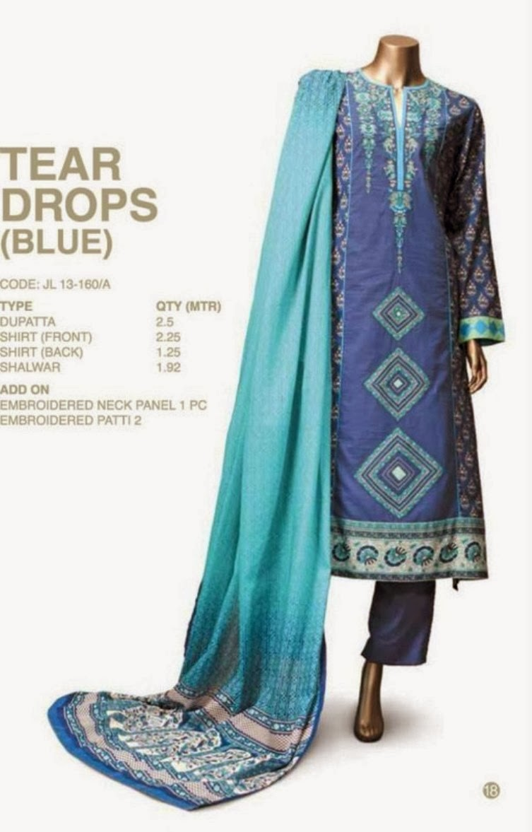 Junaid Jamshed Wear Collection 2014 for Smartest Girls ...