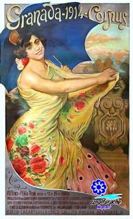 Granada - Cartel de la Feria del Corpus 1914