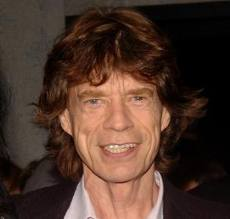 frontmen The Rolling Stones Mick jagger
