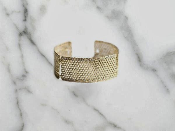Lara Melchior Honeycomb Bracelet