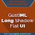 Cara Membuat Long Shadow Flat UI pada Photoshop