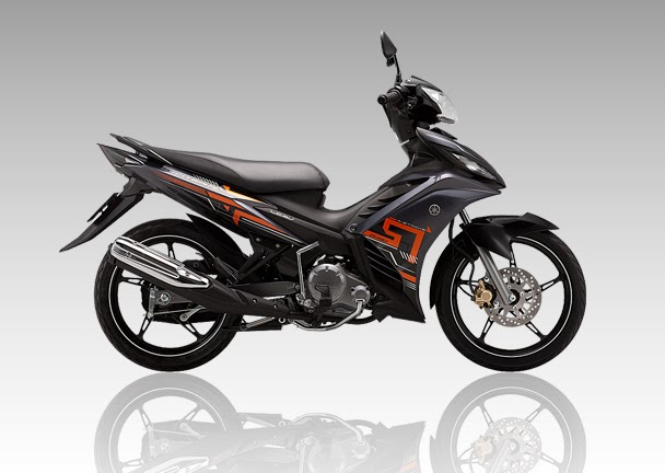 Yamaha Exciter R đen