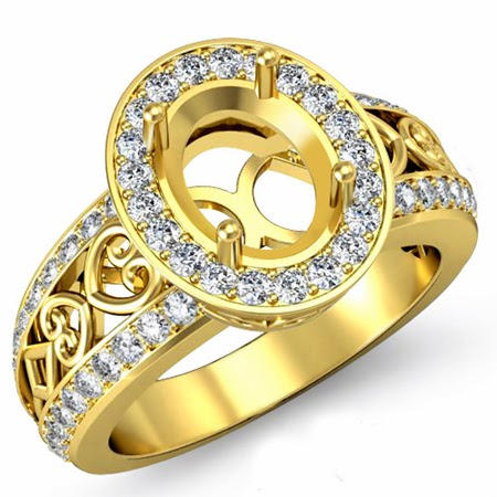Engagement Gold Rings for Women