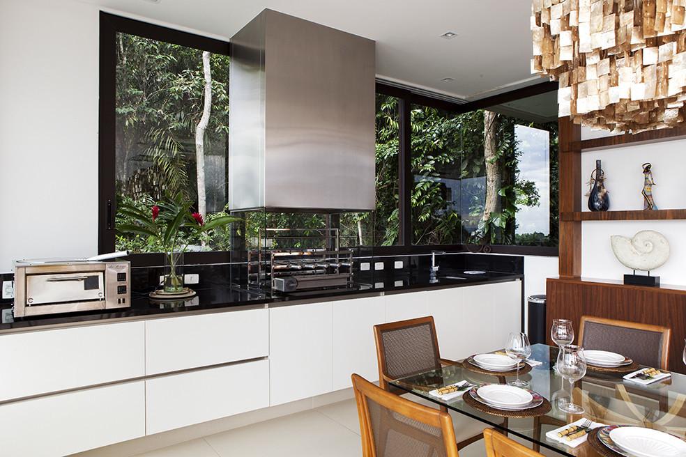 Construindo minha casa clean: cozinhas gourmet com churrasqueiras ...