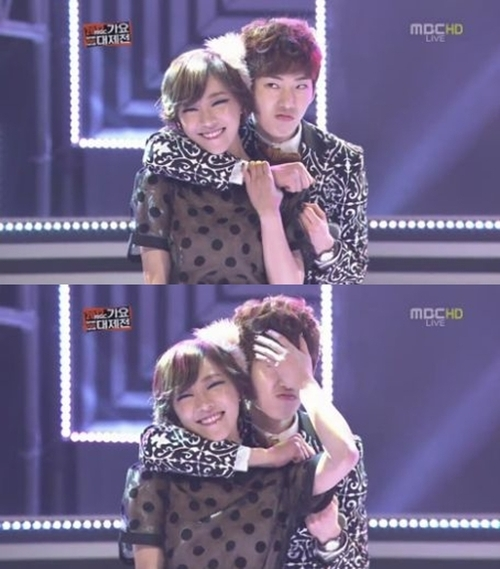 Adam Couple MBC Gayo Daejejun