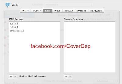Đăng nhập facebook trên máy Mac - cách vào tốt nhất-DNS