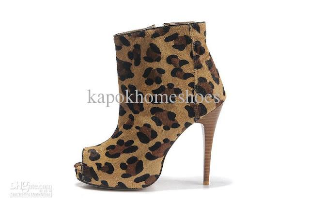 Ladies Dress Boots Zipper8
