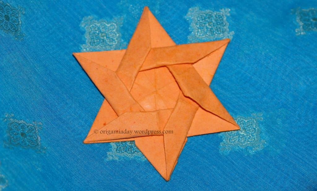 Origami maniacs origami davids star by kunihiko kasahara origami davids star by kunihiko kasahara mightylinksfo Images