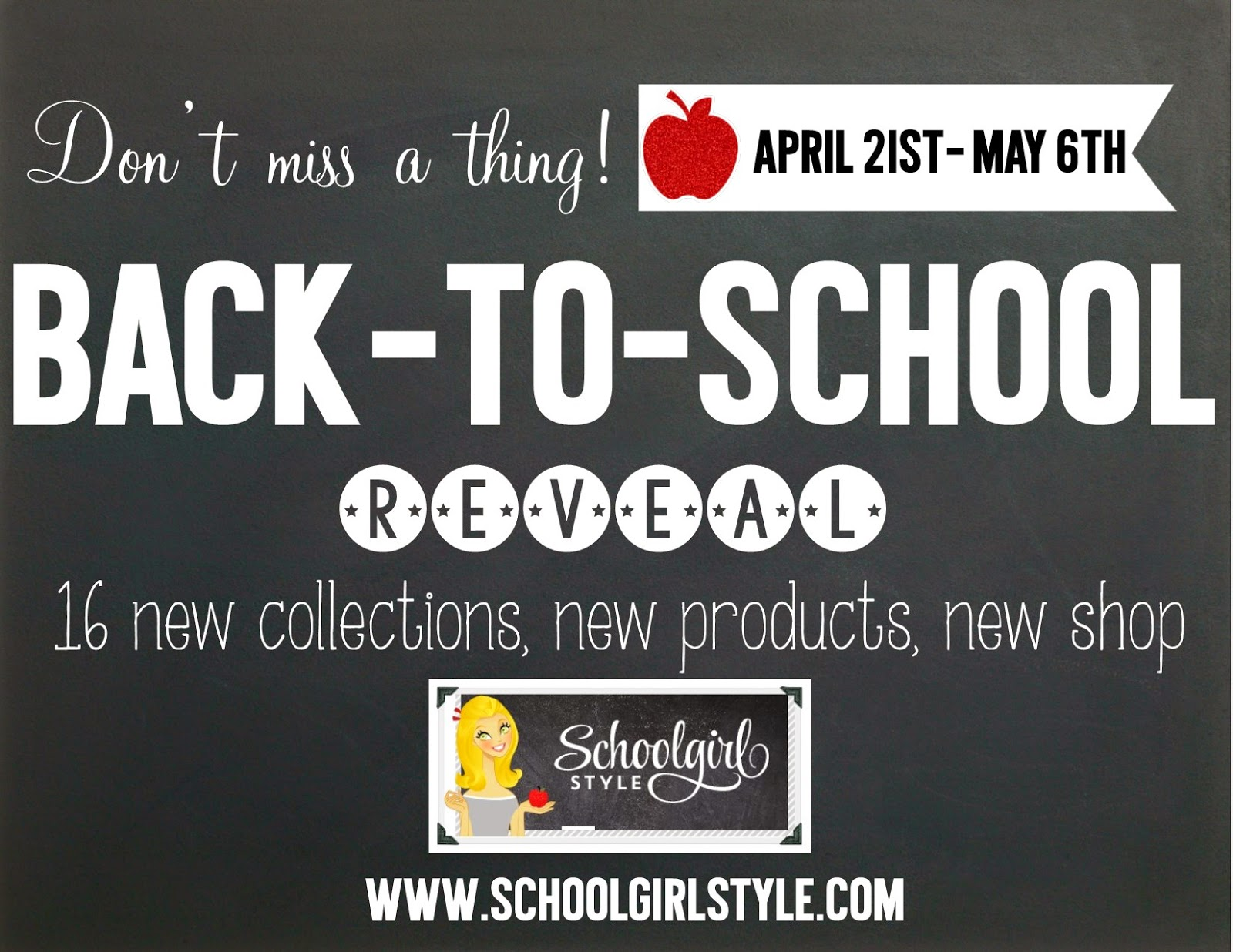 2014 Back to School reveal from Schoolgirl Style