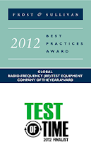 AAgilent E8257D Test and Measurement Magazine Test of Time Finalist