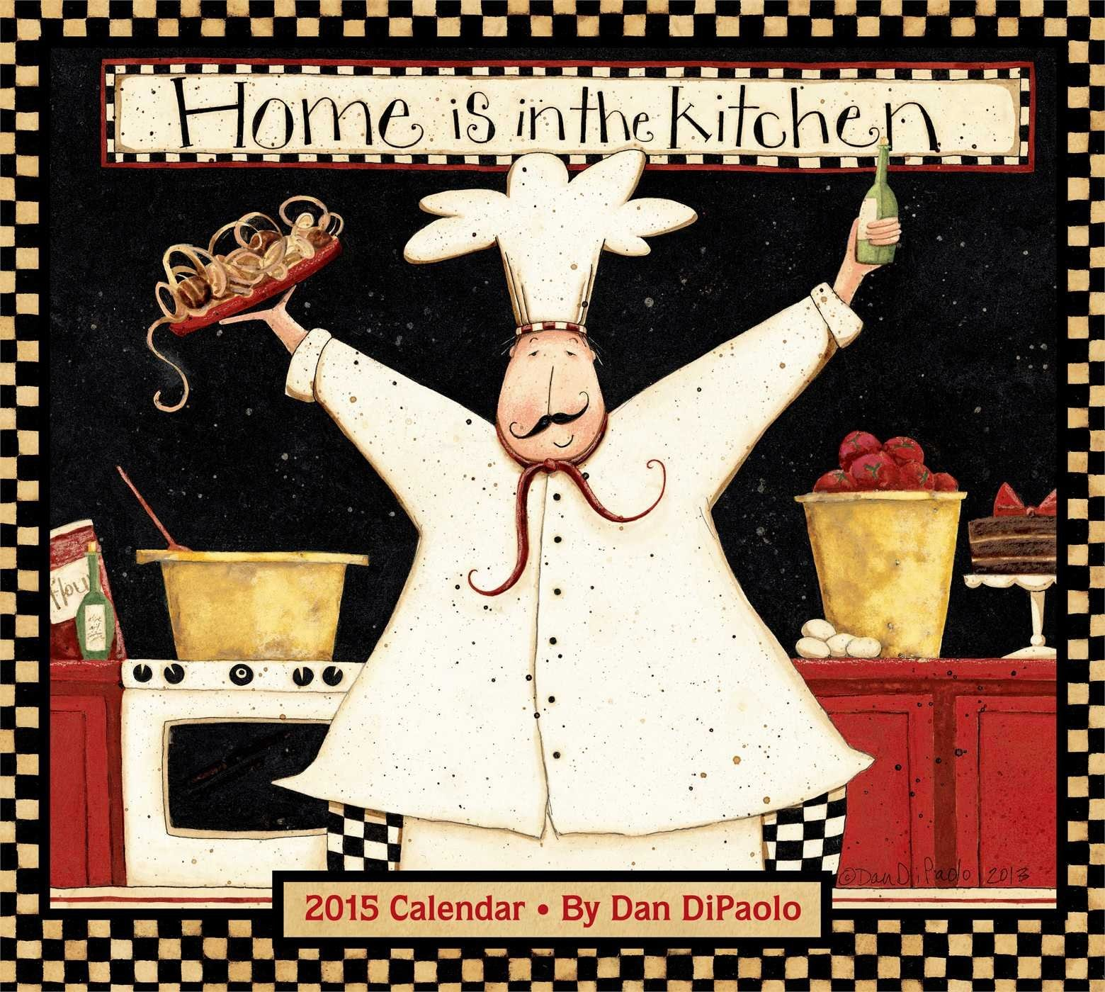 2015 Home is in the Kitchen Calendar