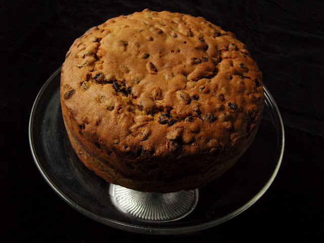 Undressed simnel cake