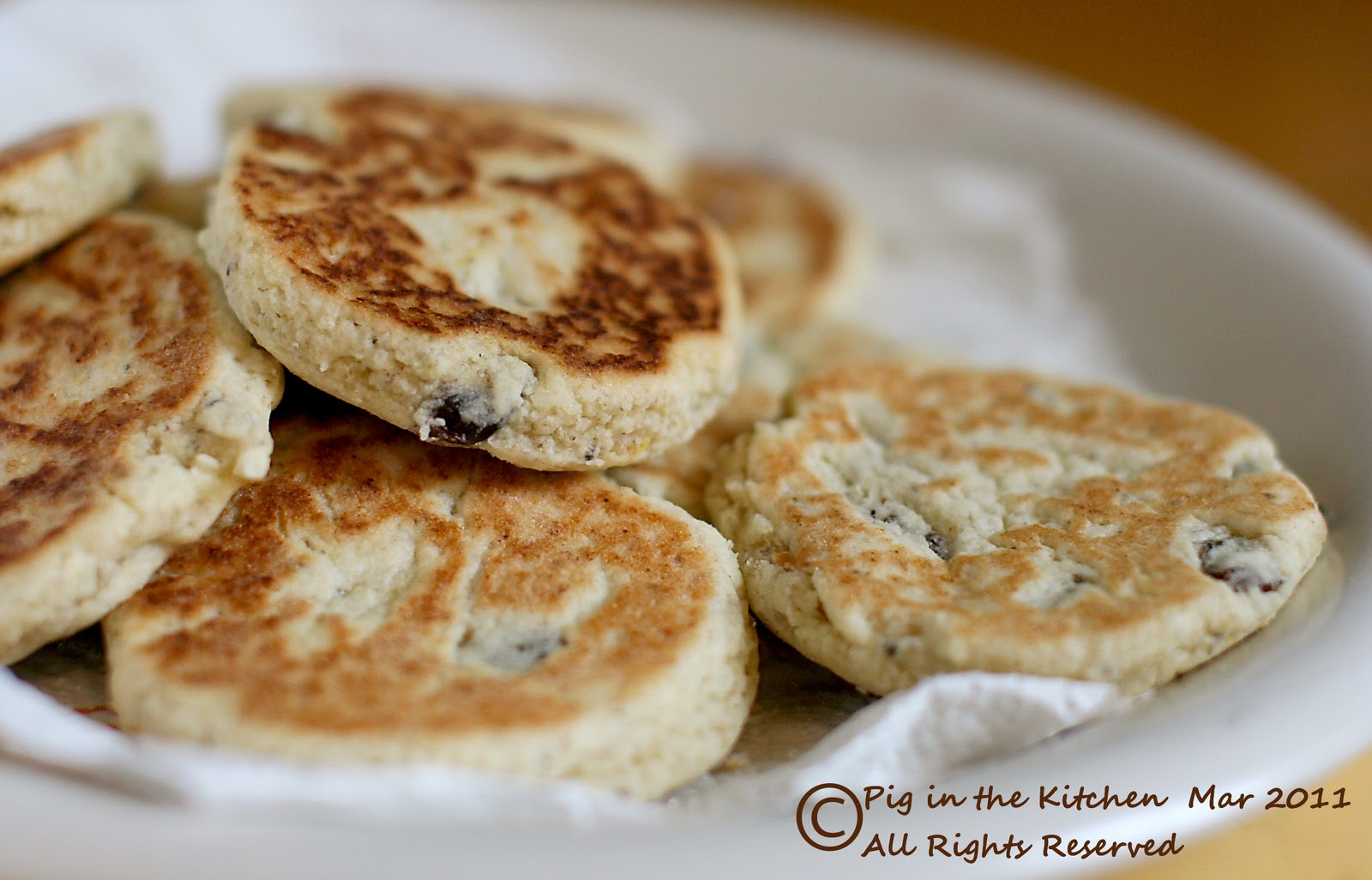 Pig in the Kitchen: Welsh Cakes - gluten free, dairy free ...