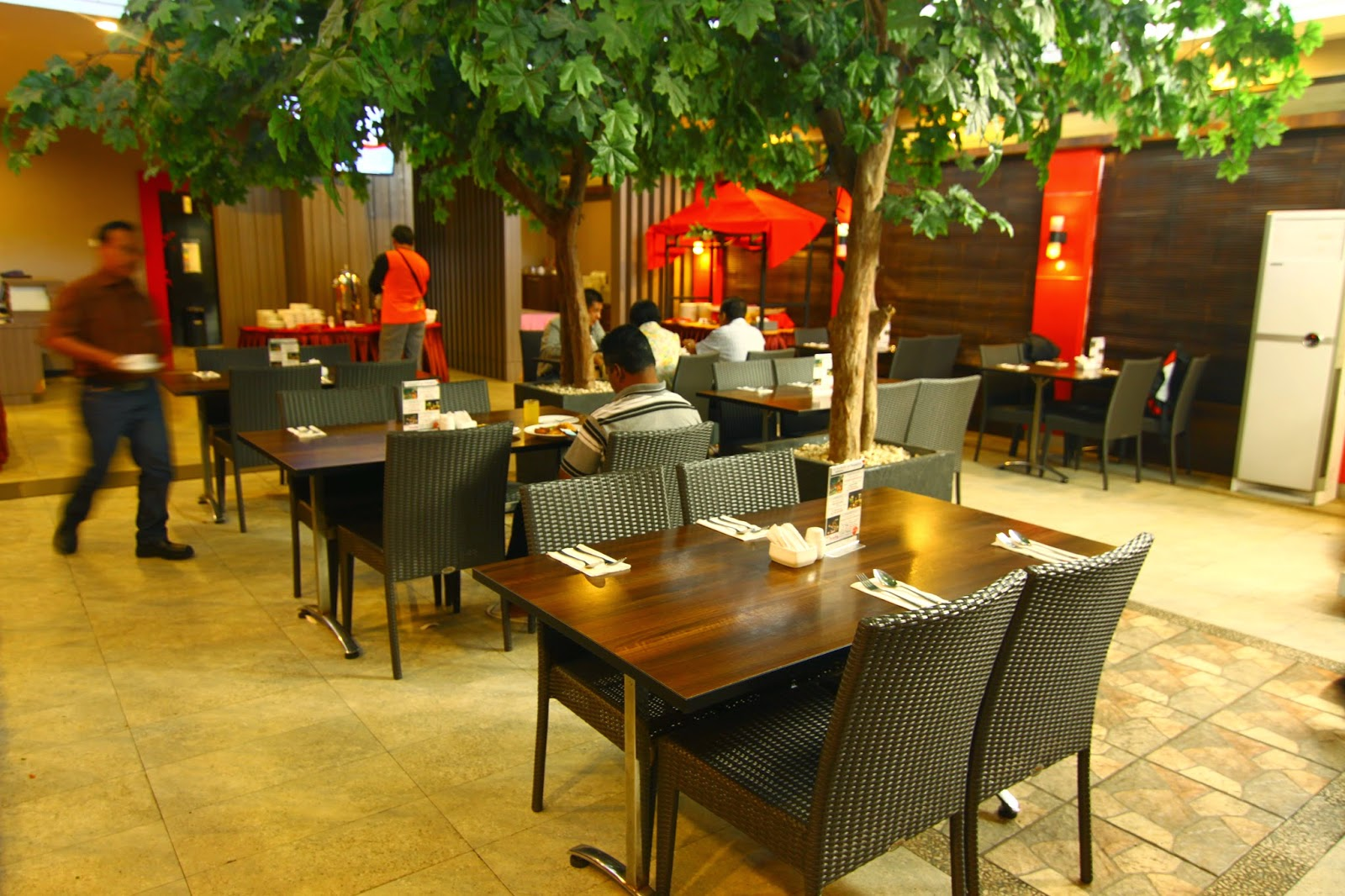 Sarapan pagi di Hotel Transera, Pontianak