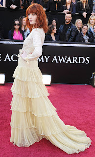 Florence Welch at the Oscars