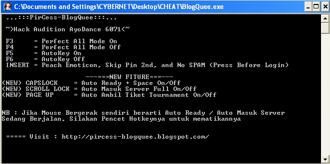 #Cheat Auto Key + PF ON OFF Terbaru v6071