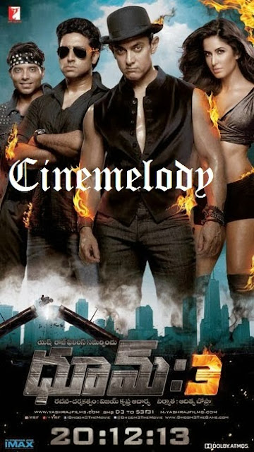 Dhoom-3   Telugu Mp3 Songs Free  Download -2013