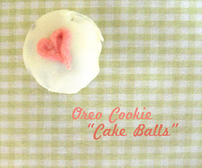 My sister taught me how to make these yummy cake balls. They are much