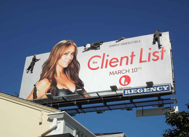 Client List 2 special mannequin billboard