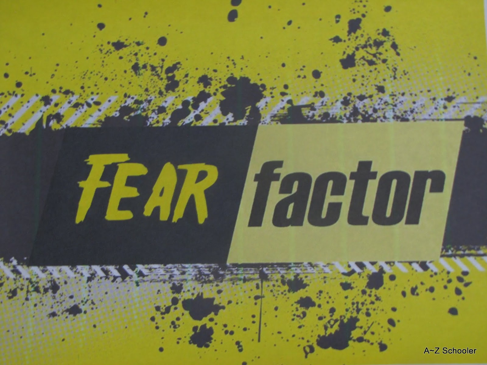 a ~ z schoolers: fear factor ~ would you rather youth activity