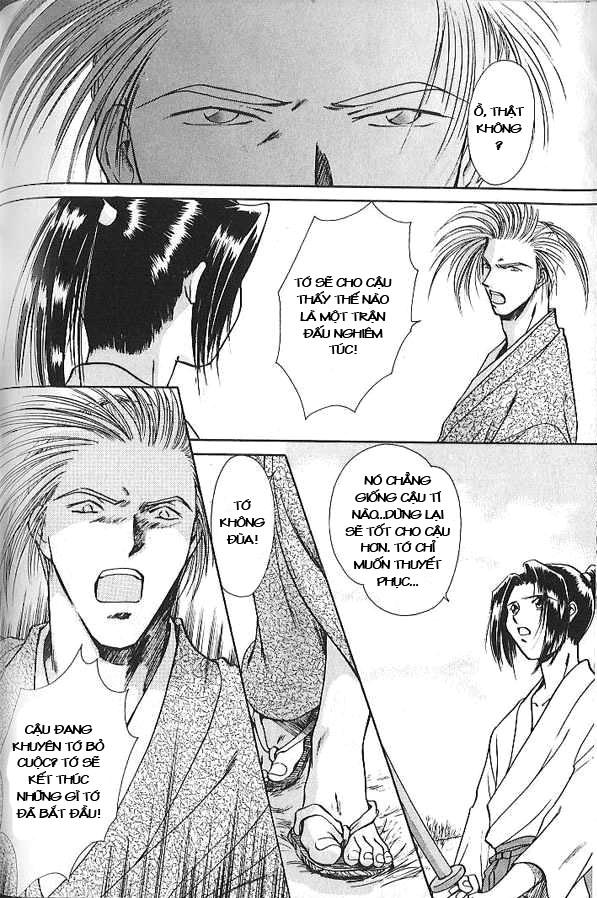 Soshite Haru No Tsuki chap 3 - Trang 21