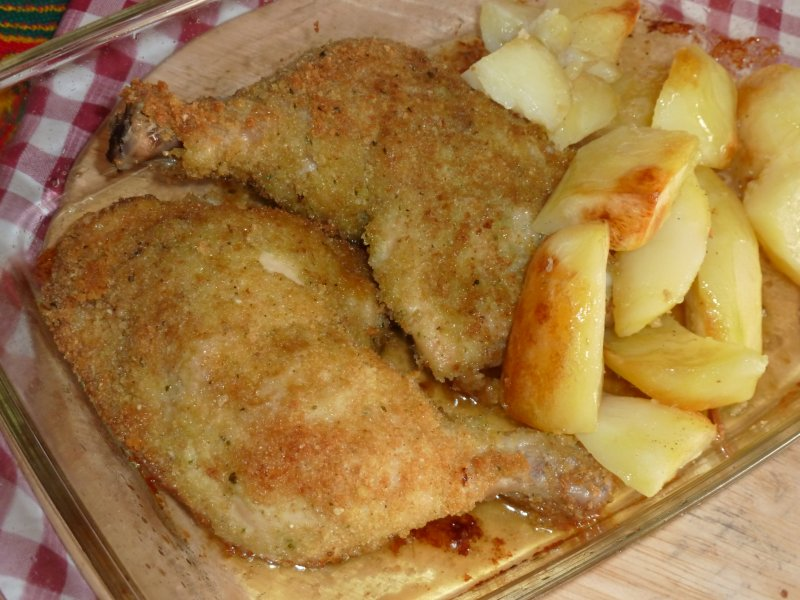 Frango panado à Kitchen Boss