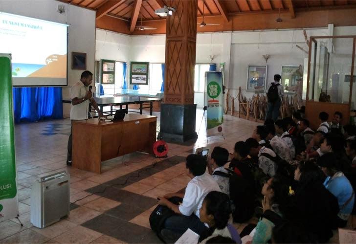 Kunjungan Sekolah SMP5 Denpasar ke BPHM Wilayah I